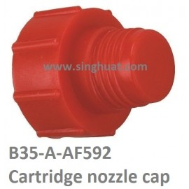 B35-A-AF592 SEALANT CARTRIDGE DISPENSER END COVER * Images are for illustrative purposes only *
