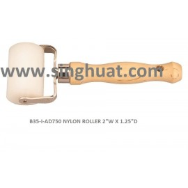 """B35-I-AD750 NYLON ROLLER 2""""W X 1.25""""D * Images are for illustrative purposes only *"""