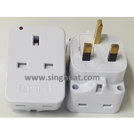3 Way 3 Pin Adaptor * Images are for illustrative purposes only *