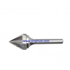 CARBIDE BURRS - SJ 60 DEG ANGLE TYPE * Images are for illustrative purposes only *