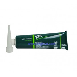 736 HEAT RESISTANT SEALANT RED * Images are for illustrative purposes only *
