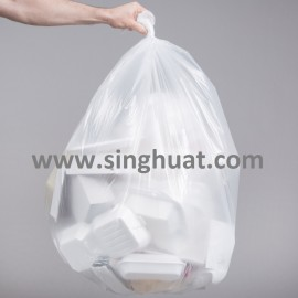 Clear Garbage Bag * Images are for illustrative purposes only *