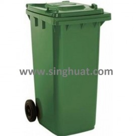 Dust Bin With Two Wheel * Images are for illustrative purposes only *
