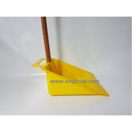 Plastic Dust Pan With Handle * Images are for illustrative purposes only *