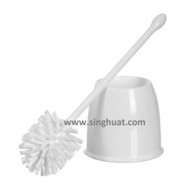 Round Type Toilet Brush With Holder * Images are for illustrative purposes only *