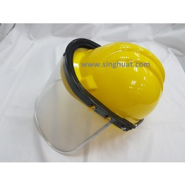 Clear Face Shield And Bracket