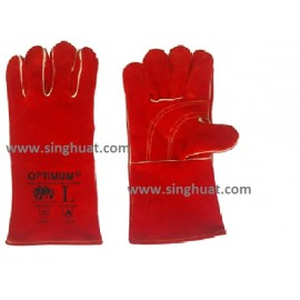 """14"""" Full Leather Welding Glove * Images are for illustrative purposes only *"""